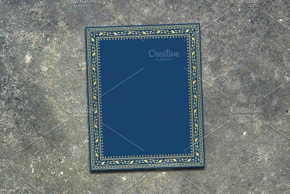 Arabic Floral Frame