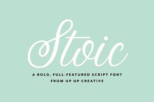 Stoic Script Font