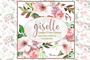 Blush Pink Watercolor Collection