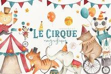 Le Cirque Magnifique  by Flora & Bear in Illustrations