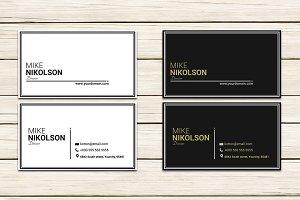 Clean Modern Business Card Template