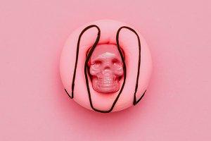 Fashion Donut Skull