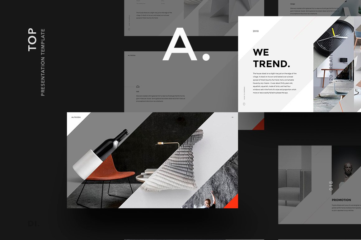 ALTEZZA Google Slides Template ~ Presentation Templates ~ Creative ...
