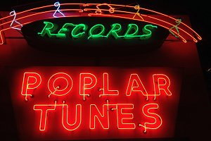 Record Store Sign