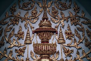 Beautiful Decoration at Wat Arun