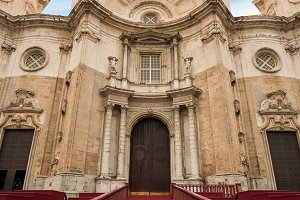 Cathedral in Cadiz, Southern Spain
