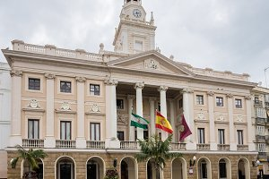 Town Hall of Cadiz in Southern Spain