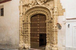 Convent in Arcos de la Frontera near Cadiz Spain