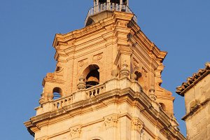 Bell tower in Ontinyent, Spain