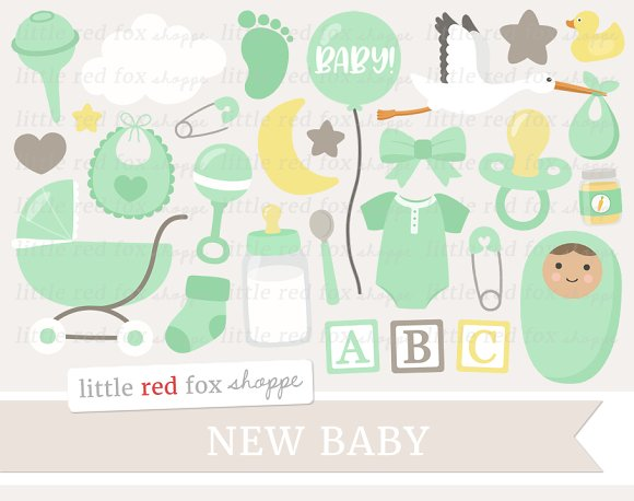New Baby Clipart