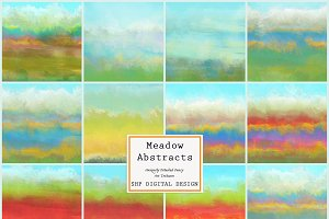 Meadow Abstract Painterly Textures