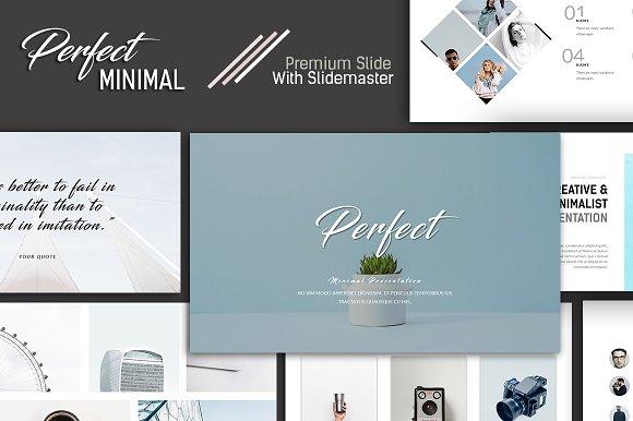 Perfect Minimal Presentation Keynote