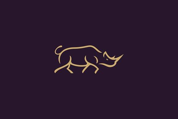 Rhinoceros Logo Template