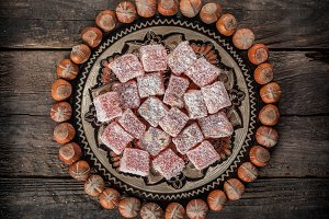 Turkish Delight, eastern delicacy