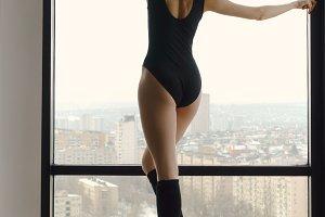 Slender ballerina