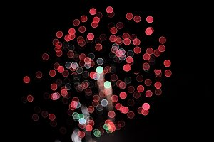 Fireworks - Abstract background