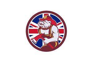 British Bulldog Fireman Union Jack F