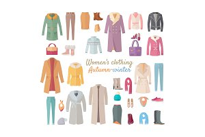 Women s Clothing. Autumn Winter Collection.