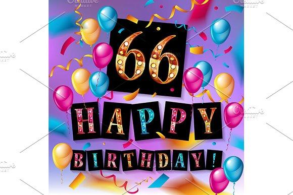 66th Years Anniversary Celebration