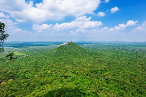 Beautiful view from Sigiriya