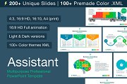 Assistant PowerPoint Template