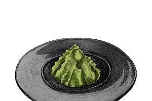 Illustration of Japanese Herb