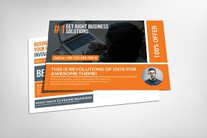 Business Responsive Postcard