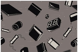 Electronic components and circuitry