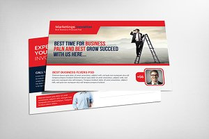 Cleaning Company Postcard Template