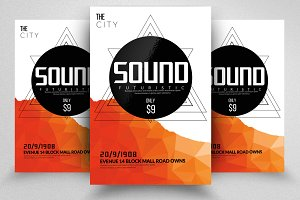Electro Psd Flyer Templates