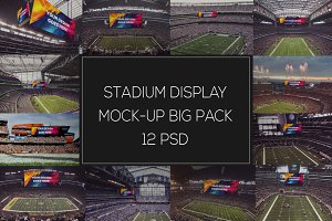 NFL Display Mock-up Big Pack #1