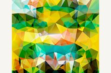 Set of Patterns of Geometric Shapes