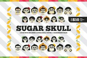 Sugar Skull Flyer & Bonus