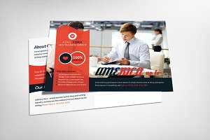 Creative Business Agency Postcard