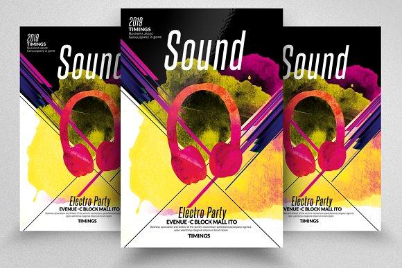 Sound Electro Flyers