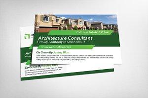 Architecture Consultant Postcard