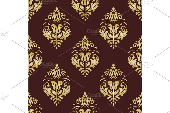 Orient Seamless Vector Background