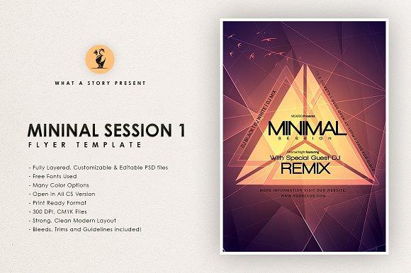 Minimal Session 1