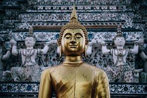 Gold Buddha Statue @ Wat Arun Temple