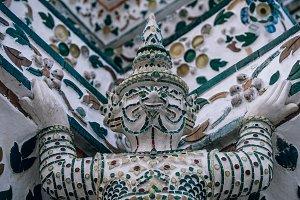 Thai Statue inside Wat Arun
