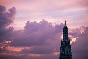 Top of Wat Arun Dome