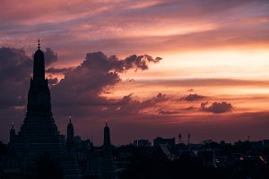 Wat Arun During Dusk