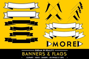 Banners & Flags - Banner Vectors