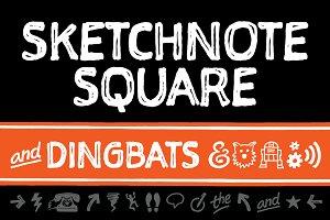 Sketchnote Square + Dingbats