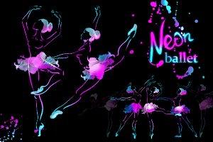neon ballerinas !