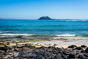 Beach of Corralejo Bay