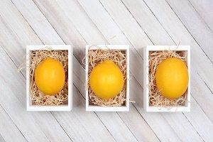 Lemons in Crates