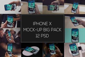 iPhone X Mock-up Bigpack #2