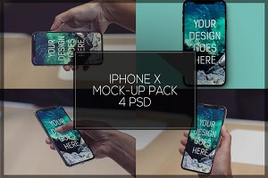 iPhone X Mock-up Pack #5