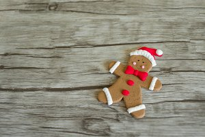 Christmas Ginger biscuit